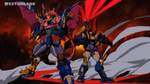 Mega Gravezord and Dancouga Nova by RyugaSSJ3