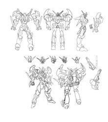 Dangaioh Blueprints