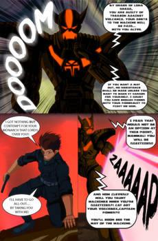 Captain Power Comic Page 2