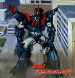 Dai-Mazinger (What-if)