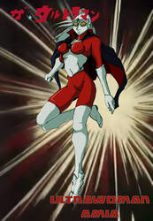 Ultrawoman Amia (Obari style remake)