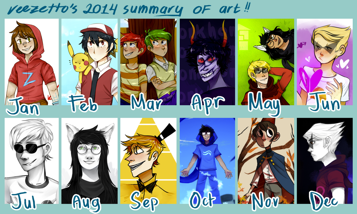 2014 Summary of Art by reezetto