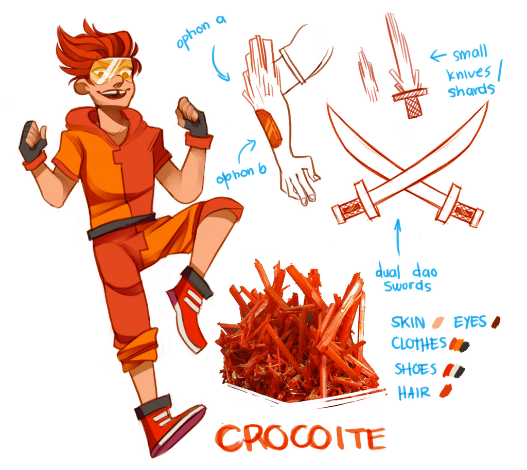 steven universe oc crocoite by reezetto on deviantart