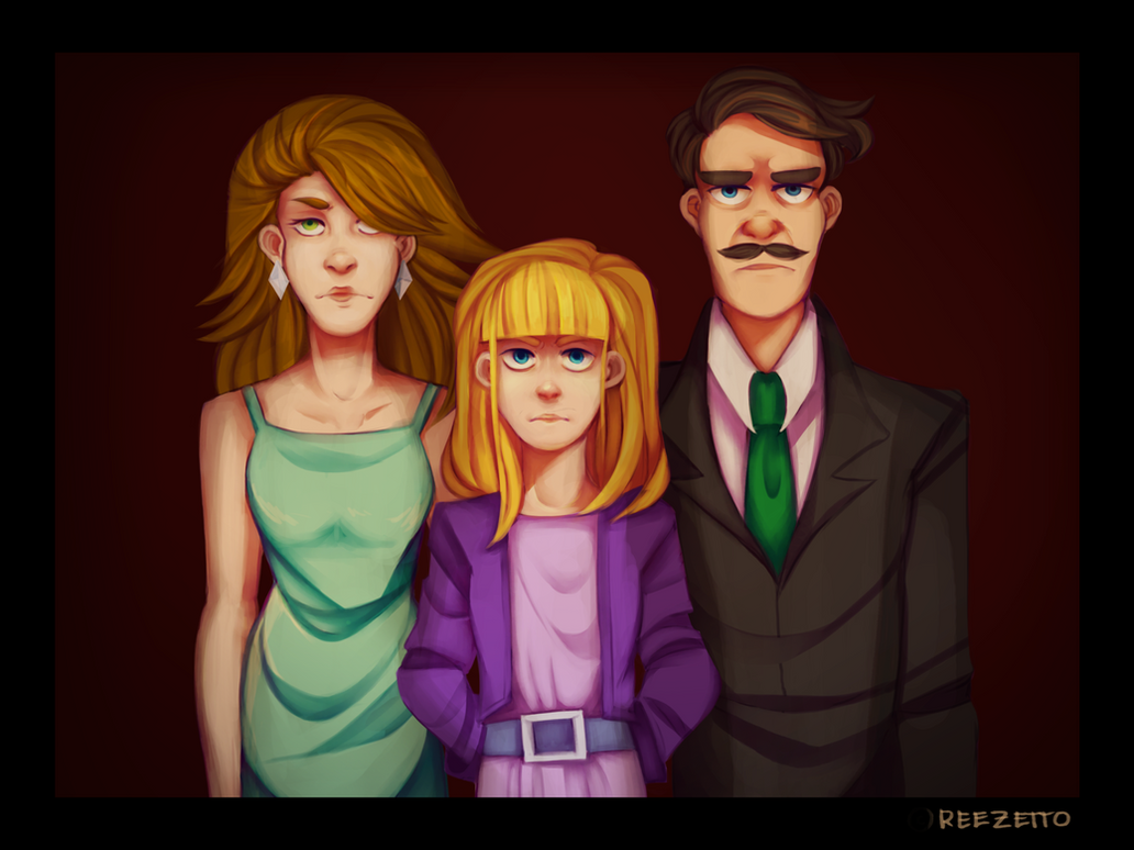 We'll Be A Perfect Family by reezetto