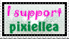 I Support Pixiellea by CharismasXe
