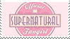 Official Supernatural Fangirl Stamp