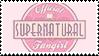 Official Supernatural Fangirl Stamp by SadForest