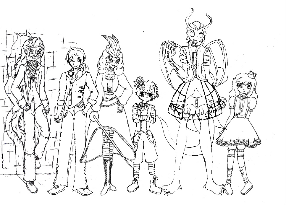 All My Ever After High OC's. By VictorianMycomancer On