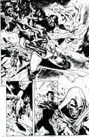 Avengers Initiative Inks by lebeau37
