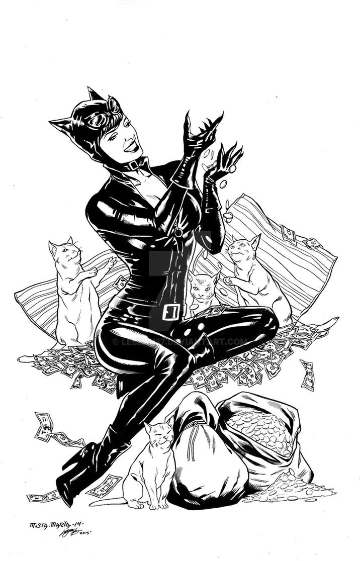Catwoman by lebeau37