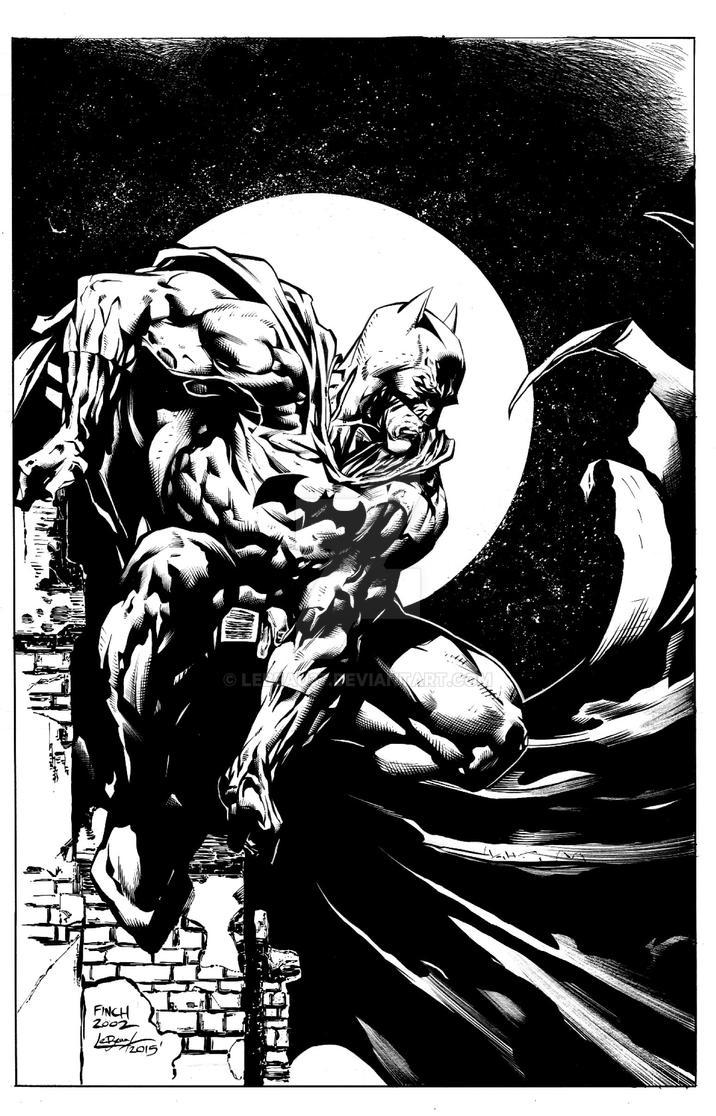 BATMAN by lebeau37