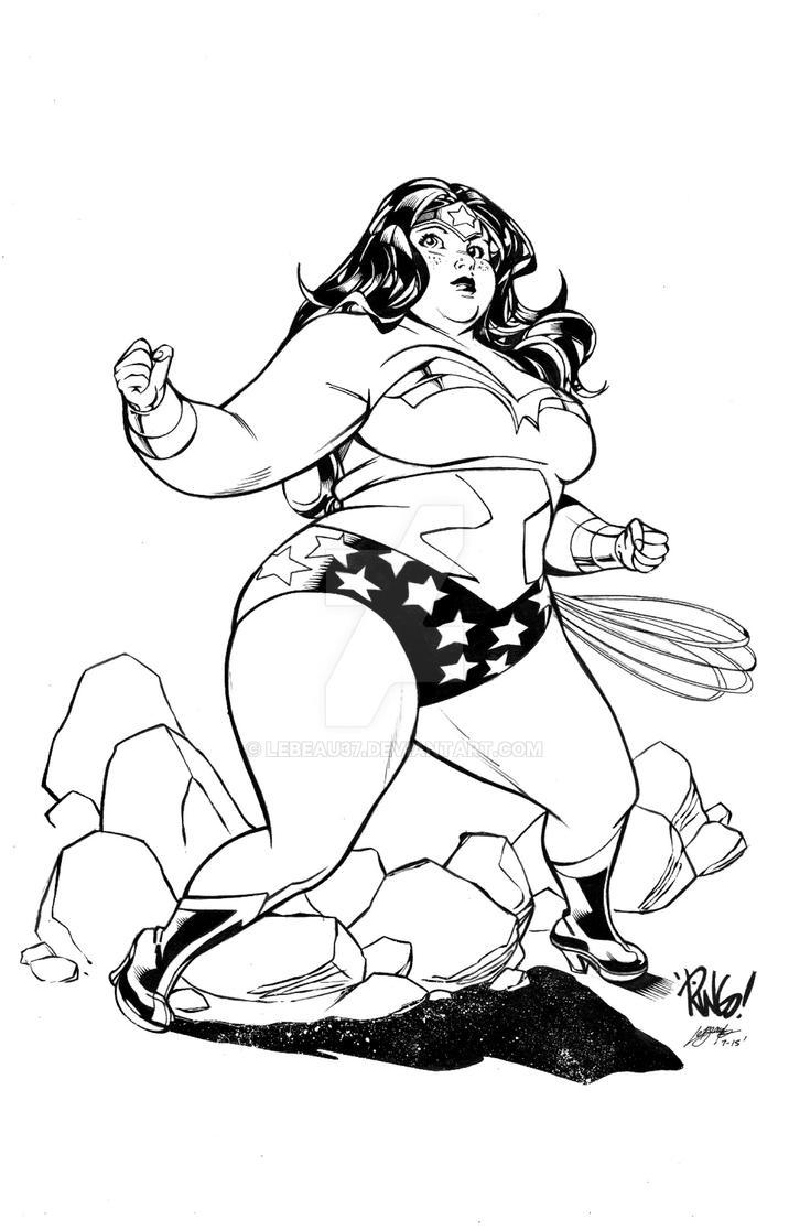 Wonder Woman BBW by lebeau37