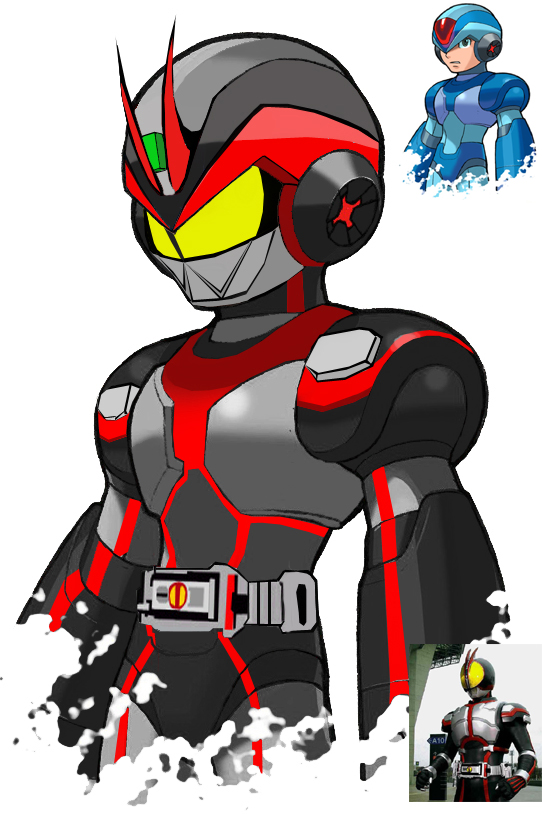 Kamen Rider 555 X version by blueraven85