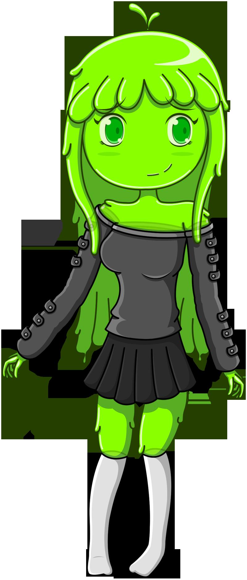 Slime Girl by JoTheWeirdo