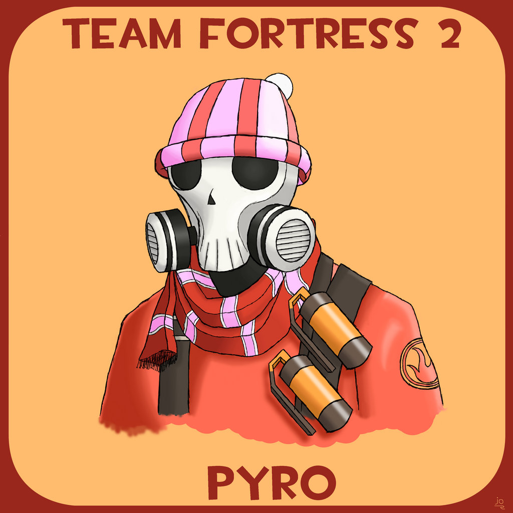 Team Fortress 2: Pyro by JoTheWeirdo