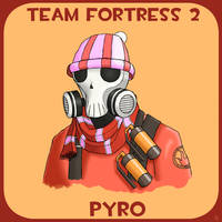 Team Fortress 2: Pyro by JoTheWeirdo