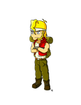 Metal Slug project: Marco
