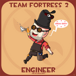 Team Fortress 2: Engineer And Cream Gravy