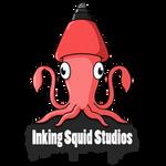 Inking Squid Studios Logo Design