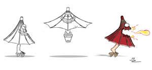Kasa Obake (design sketches)