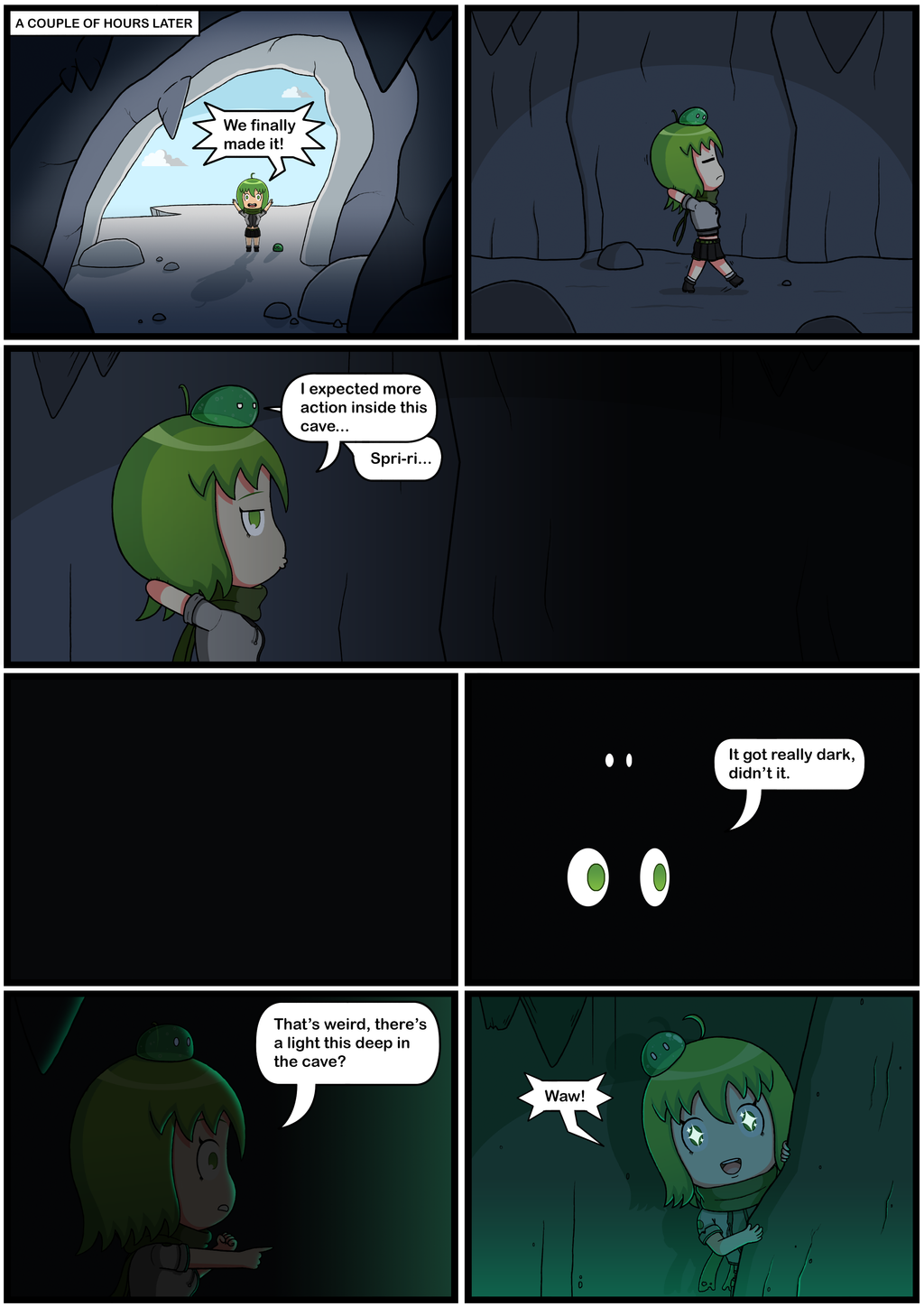 Yuuna The Adventurer (Page 4 full color) by JoTheWeirdo