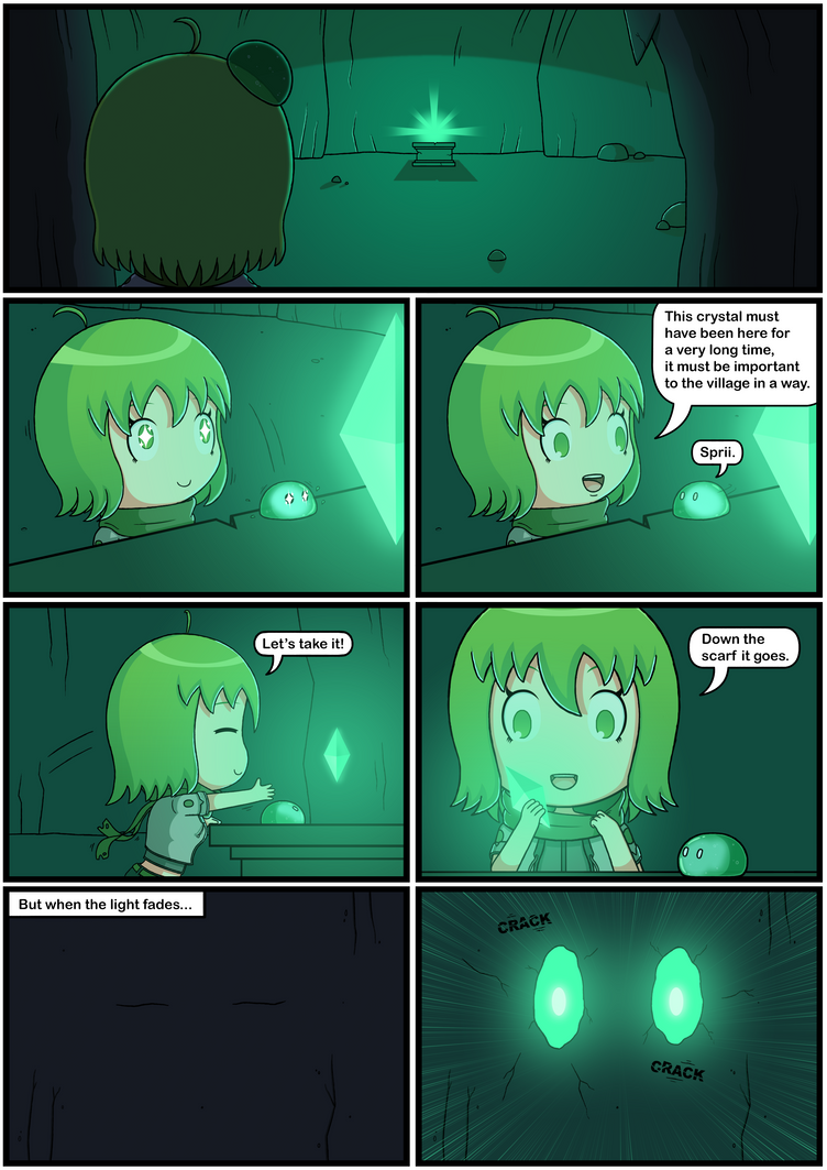 Yuuna The Adventurer (Page 5 full color) by JoTheWeirdo