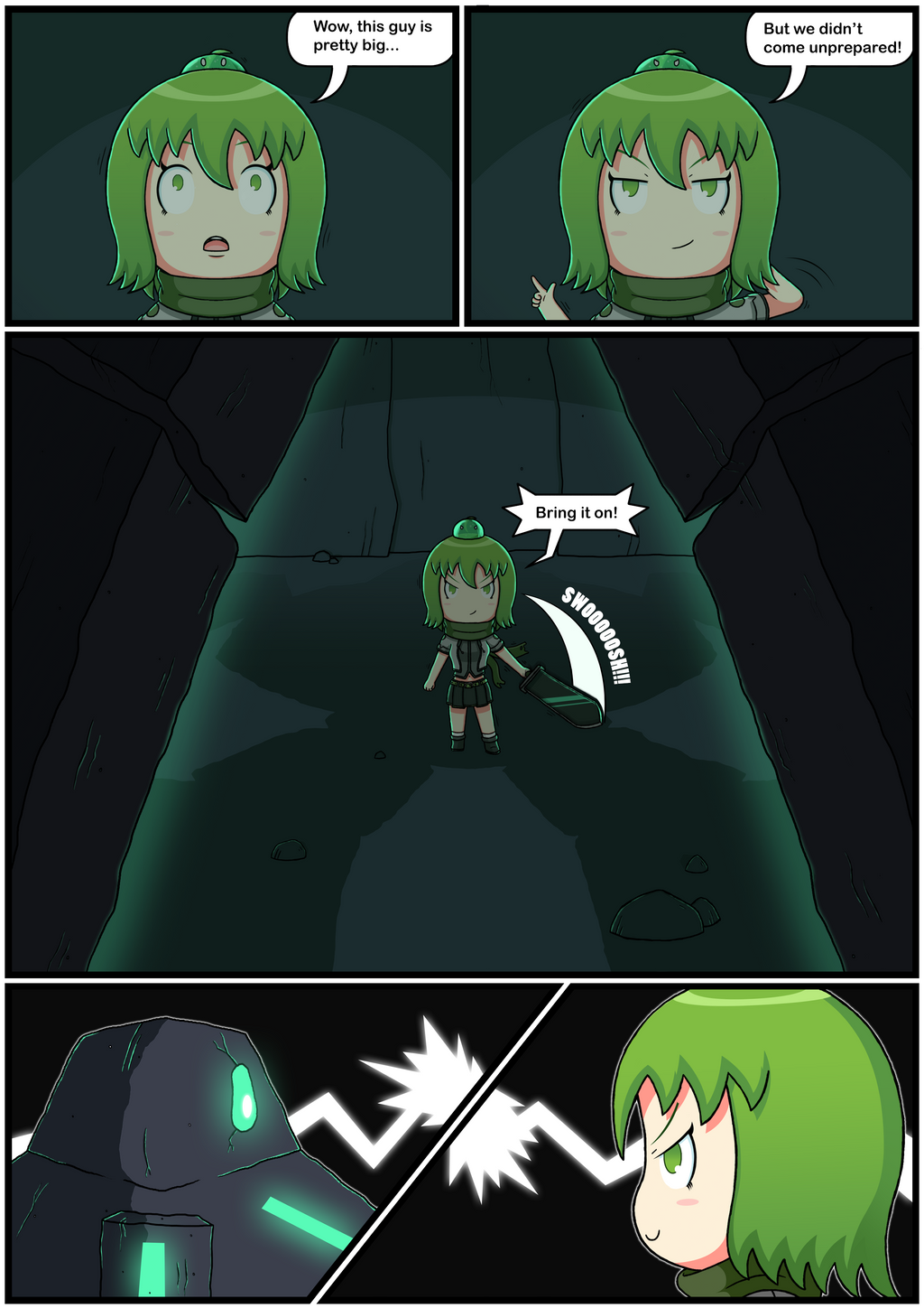 Yuuna The Adventurer (Page 7 full color) by JoTheWeirdo