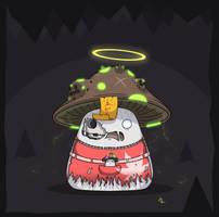 Maplestory #7: Zombie Mushmom (redesign) by JoTheWeirdo