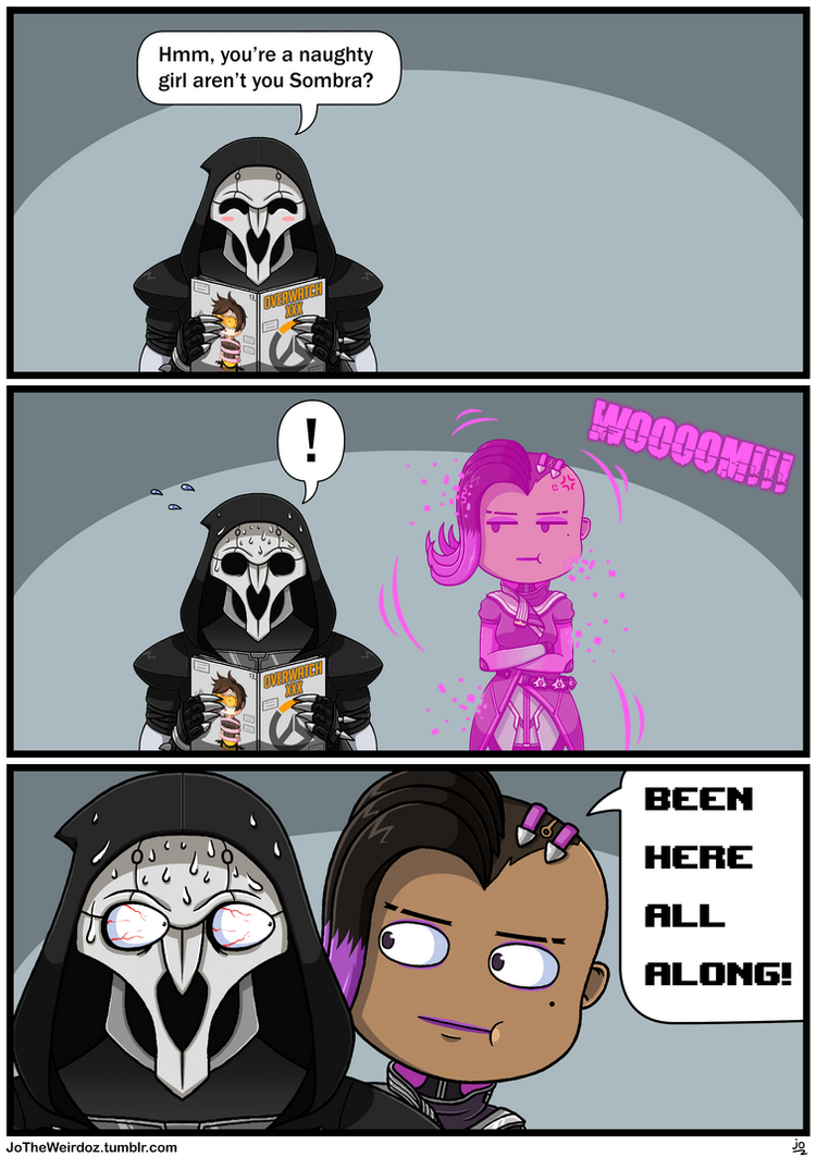 Overwatch Comic: Been here all along! by JoTheWeirdo