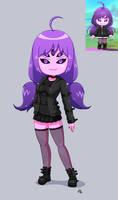 Spider Monster Girl (Maplestory 2) by JoTheWeirdo