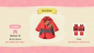 Animal Crossing New Horizons: TF2 Soldier