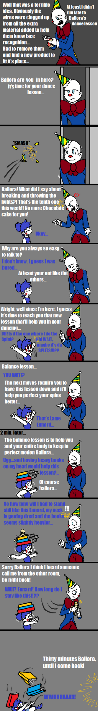 Dancing Lessons (FNAF Comic) by Blustreakgirl
