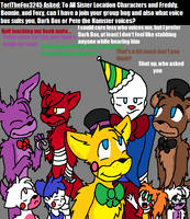 Ask FNAF Comic Pt.44 by Blustreakgirl