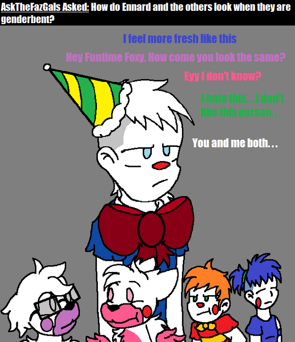 Ask Fnaf Babies: Ask FNAF Comic Pt.113 By Blustreakgirl On DeviantArt