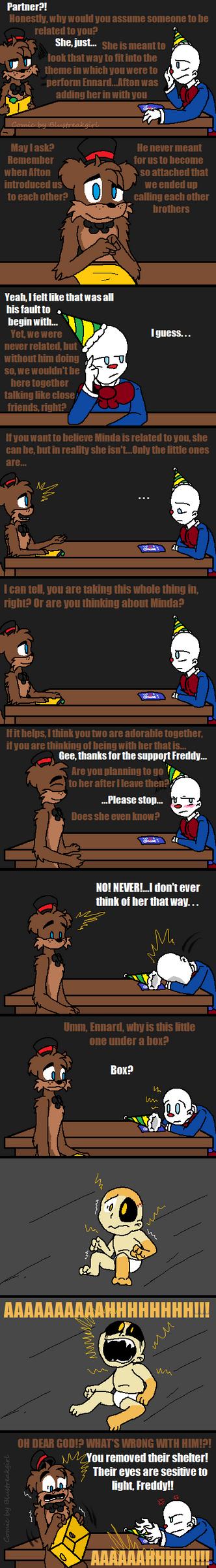Forgotten Judgement (FNAF Comic) Pt.7 by Blustreakgirl
