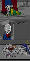 Stitching Glitches (FNAF Comic) Pt.4 by Blustreakgirl