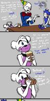 Caffeine Fever (FNAF SL Comic) by Blustreakgirl