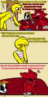 Not so Normal Christmas (FNAF Comic) Pt.3 by Blustreakgirl