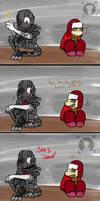 Hey Ned (FNAF Comic Short) by Blustreakgirl