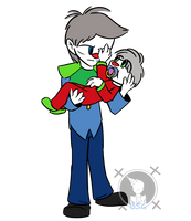 Ethan and Lil Judy by Blustreakgirl