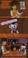 Weeks Worth (FNAF 6 Comic) Pt.3 by Blustreakgirl