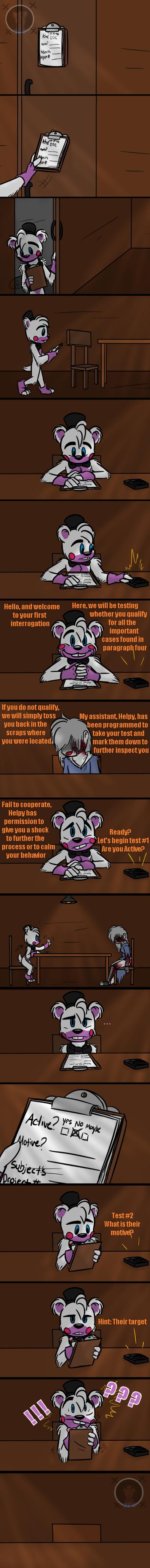 Swift Call (FNAF 6 Comic) Pt.1 by Blustreakgirl