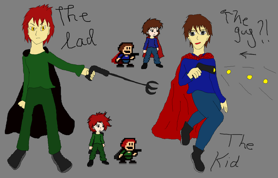 i wanna be the guy kid and lad by blingblingqueen on deviantart
