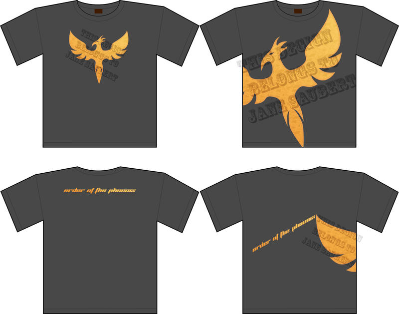 Order of the phoenix shirt by ambrose513 on deviantart for Order shirts with logo