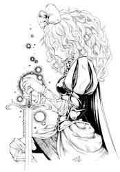 Sword Princess Amalthea by Nattserier