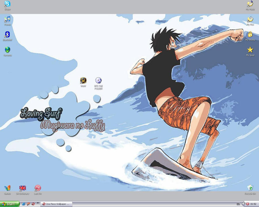 One Piece Wallpaper by Anny-bg
