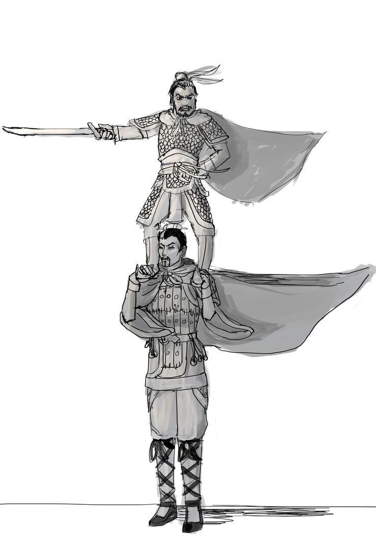 Yue Jin and Yu Jin Lead the Yanjin Raids by CaTigeReptile