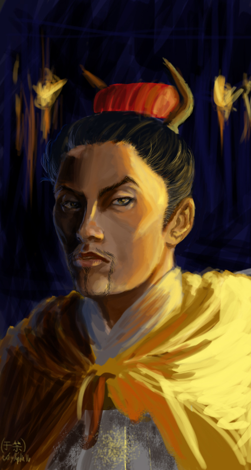 Another Unfinished Portrait: Yu Jin by CaTigeReptile
