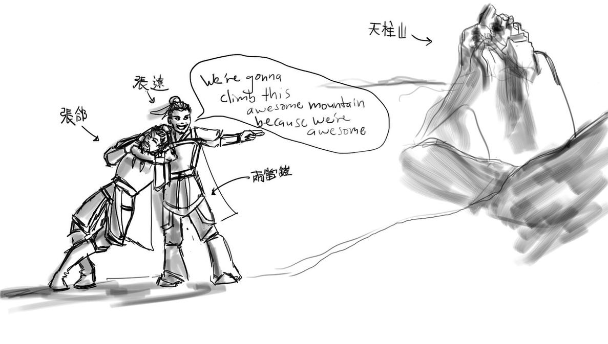 TO TIANZHUSHAN by CaTigeReptile