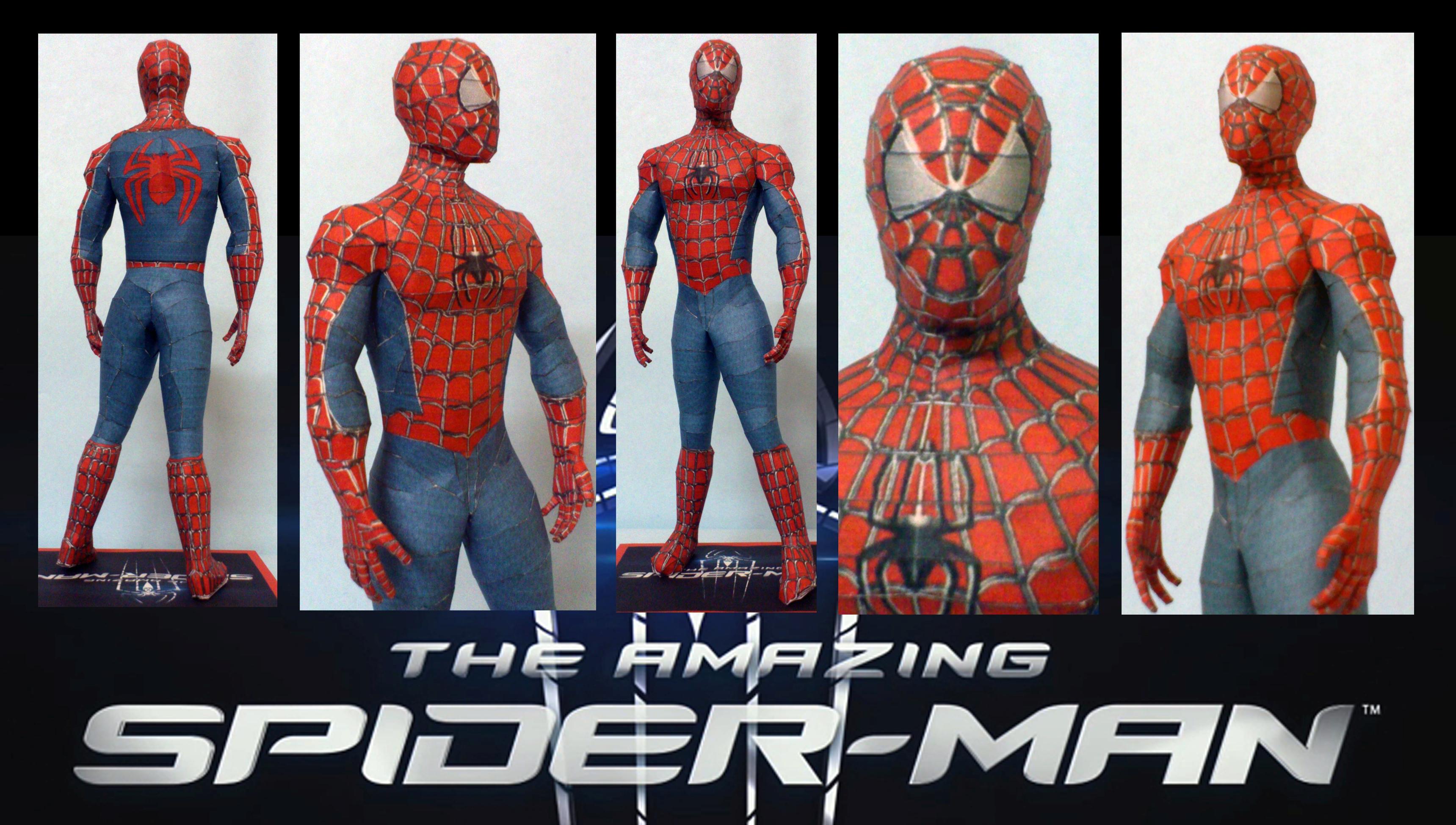 Spiderman Papercraft by suraj281191